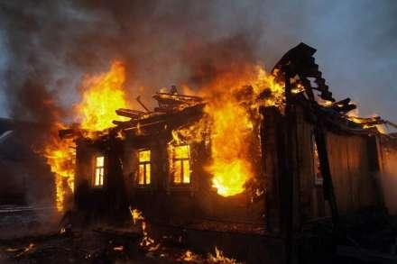 ВВолгоградской области женщина погибла при пожаре