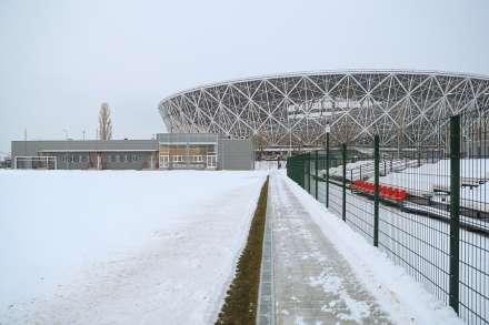 ВВолгограде тренировочные площадки готовы встретитьЧМ