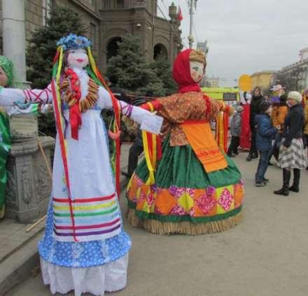 ВВолгограде пройдет выставка масленичных кукол