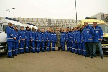 Бригады скорой помощи Волгограда получили новейшую спецодежду