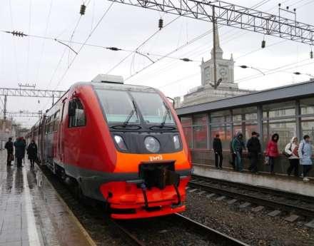 Электрички наБелорусском направлении ввыходные пустят поизменённому графику