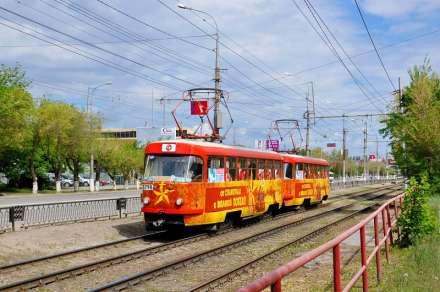 «Трамвай Победы» вышел налинию наюге Волгограда