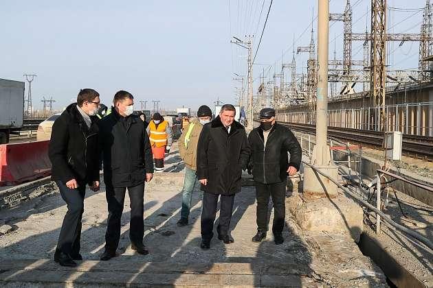 """Андрей Бочаров: """"Мы приступили к завершающему этапу работ на мостовом переходе Волжской ГЭС. До конца года выполним весь объем работ"""""""